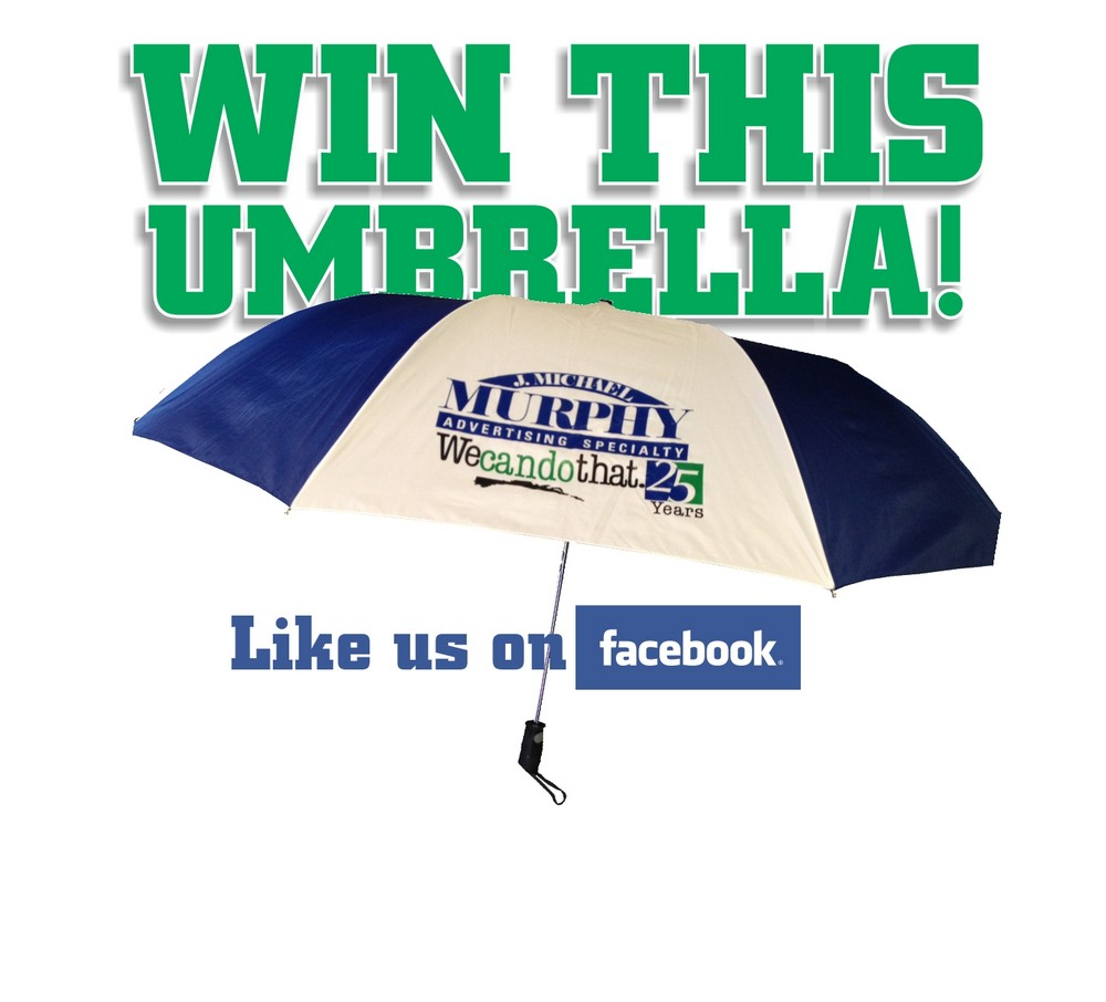 Umbrella Giveaway Kicks Off the 25-Year Celebration at Murphy Advertising