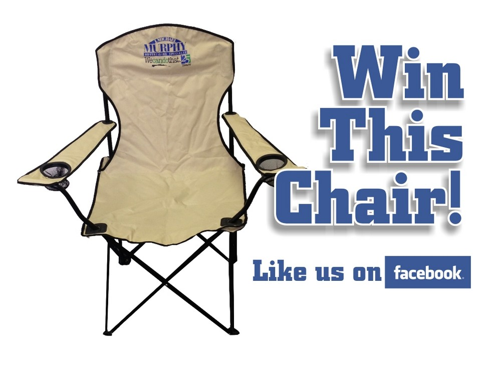 This Quarter's Prize Is a Portable Chair!